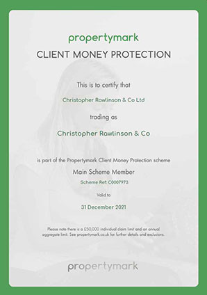 Client Money Protection - Certificate